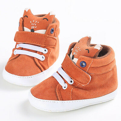 Infant Baby Boy Sport Shoes Warm Ankle Boots Cute Toddler Crib Shoes Sneakers