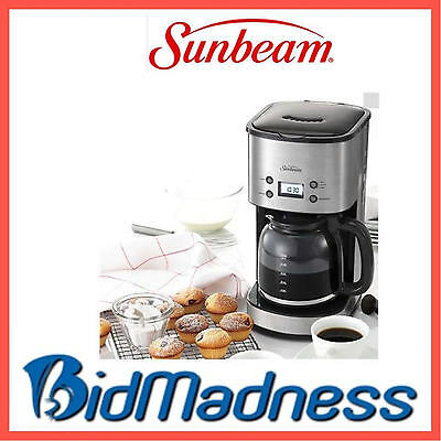 New Sunbeam Pc7900 Stainless Programmable Drop Filter Coffee Machine  P'up Avail