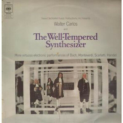 WALTER CARLOS Well Tempered Synthesizer LP VINYL UK Cbs 13 Track Stereo