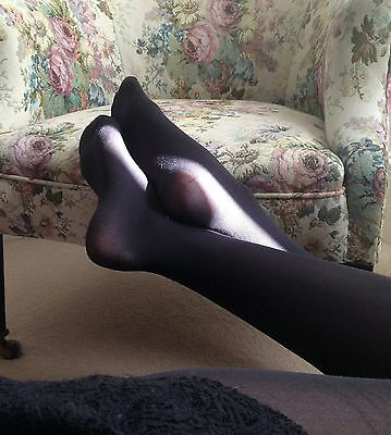 My tights 60 denier black nylons