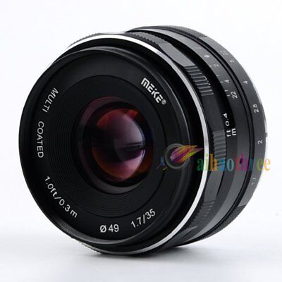 MEIKE 35mm APS-C F/1.7 0.113x Lens Manual Focus For Sony E-mount Camera【AU】
