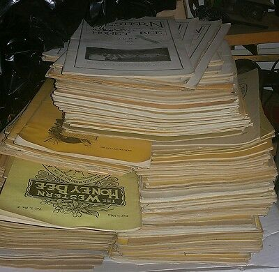 Bee Keeping Magazine LOT At least 110! some going back early 1900sFREE SHIPPING!