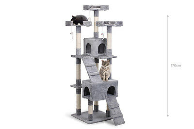 BRAND NEW with WARRANTY - Pawever Pets Cat Scratching Post Tree (Large)