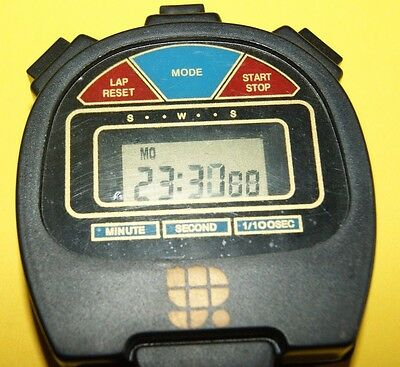 New Digital Hand Held Stopwatch/timer/alarm With Lanyard