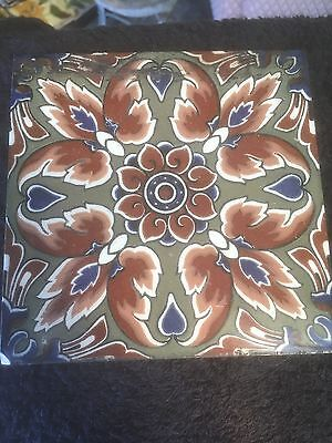 Original Antique Fire Back Tile
