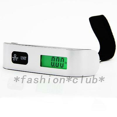 Hot 50kg/10g Portable LCD Digital Hanging Luggage Scale Travel Electronic Weight