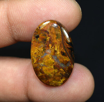 13.60 Cts. 100 % Natural Chatoyant Pietersite Oval Cabochon Loose Gemstones