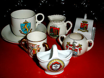 Crested China Lot