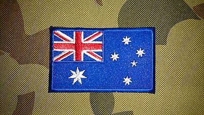 Brand New Australia Flag Tactical Morale Hook Loop Patch Australian Aus Seller