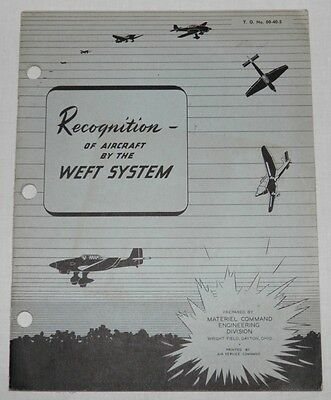 WWII AIRCRAFT Identification GERMAN Russian JAPANESE Italian US Fighters BOMBERS
