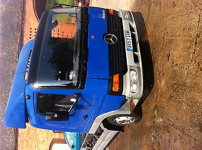 Mercedes Atego 815 Sleeper Chassis Cab