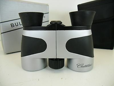 Cadillac Promo Gift Small Binocular W/CASE + Micro Fiber Cloth Glove Box Kit New