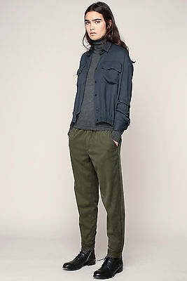 NEW THE KOOPLES FLUID DENIM JOGGING BOTTOMS lyocell Trousers - XS Authentic