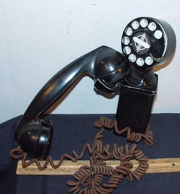 Vintage Space Saver Rotary Dial Telephone Bell System Western Electric 43A 5H !!