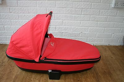 Quinny Foldable carrycot to fit Buzz Moodd prams (PINK PASSION)