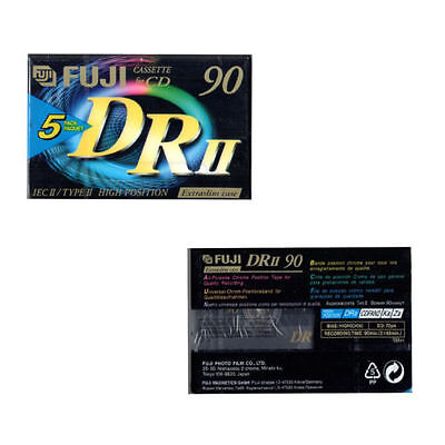 10 New, Sealed And Boxed Fuji Dii 90 Minute Cassette Tapes