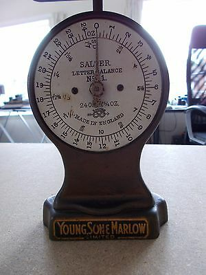 Young, Son & Marlow Salter Vintage Letter Balance No. 11. See pics below.