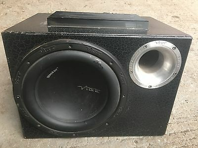 """VIBE ACTIVE SUB WOOFER APPROX 10"""" free p&p"""