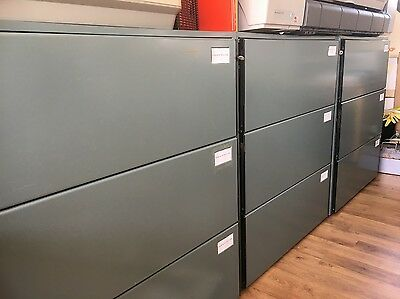 High quality 3 drawer filing cabinet with anti tip