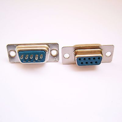 50 PCS RS232 D-Sub DB9 Female Connector Serial 9 Pin Solder Type Straight D03