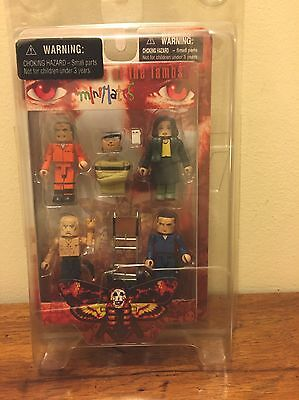 Silence of the Lambs Minimates Hannibal Lecter Figures Horror Movie Prop