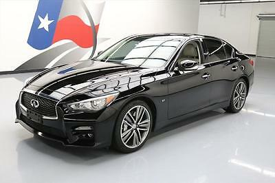 2014 Infiniti Q50  2014 INFINITI Q50 SPORT SUNROOF NAV HTD LEATHER 35K MI  #679472 Texas Direct