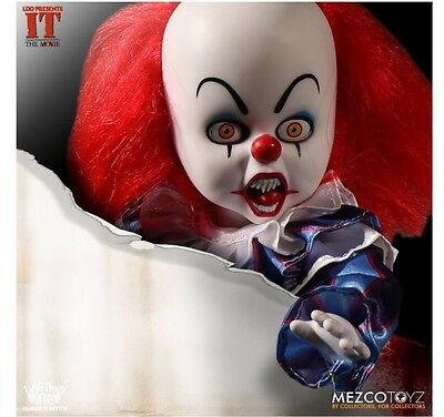 Mezco Living Dead Dolls IT Pennywise Preorder