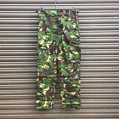 New British Army Surplus Issue 90/96/112 Woodland Dpm Windproof Combat Trousers