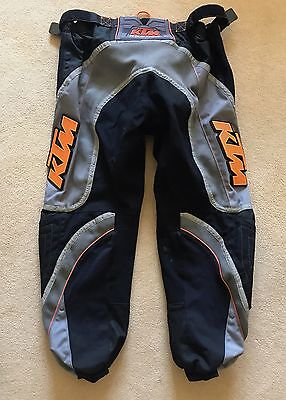 KTM Enduro Motocross Motorcycle Off road Pants Trousers Size 38