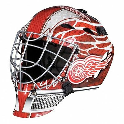 Franklin Sports NHL Detroit Red Wings Street Hockey Youth Goalie Mask