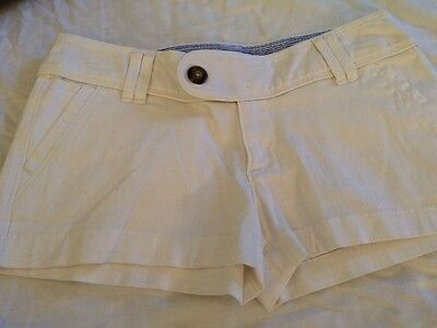 Red Camel Juniors Girls Shorts Off White Size 1 New