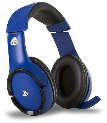 PS4 Wireless Stereo Gaming Headset PRO4-100 Blue - Sony Official Licensed