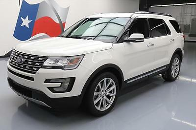 2016 Ford Explorer  2016 FORD EXPLORER LIMITED VENT LEATHER NAV 20'S 47K MI #C09269 Texas Direct