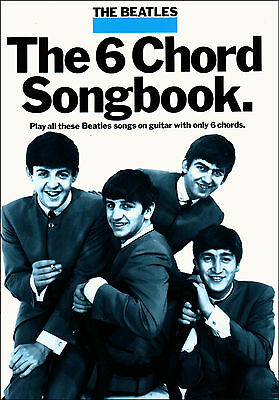 THE BEATLES FOR GUITAR EASY SONGBOOK Chords Lyrics Sheet Music Song Book