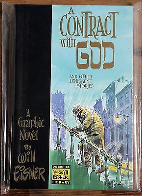 A CONTRACT WITH GOD by Will Eisner (Paperback) Graphic Novel DC Comics