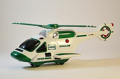2006 Hess Model Helicopter - Battery Operated Lights and Rotating Propellors