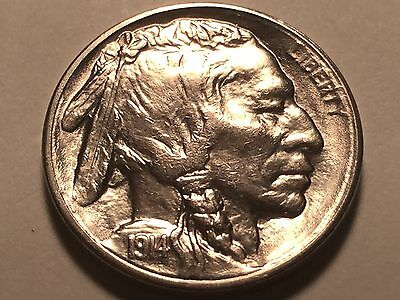 1914-S Buffalo Nickel * Superb Gem BU *
