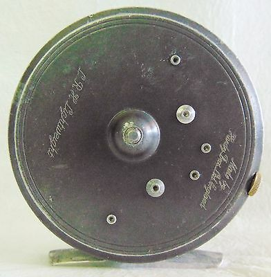 VINTAGE Hardy Bros. LRH Lightweight Fly FISHING Reel for parts