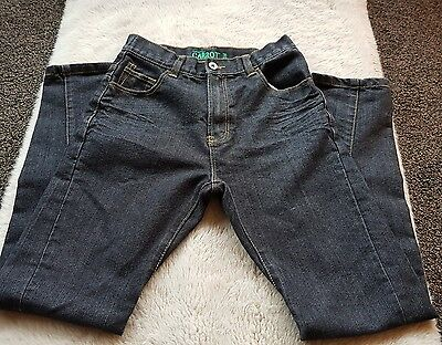 boys carrot fit jeans age 11-12