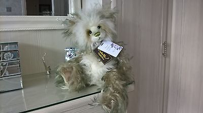 """CHARLIE BEARS Forbes - (New for 2017)* Mohair  16.5"""" by  Isabelle Lee!"""