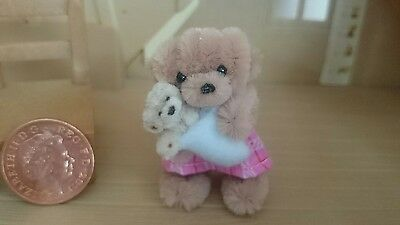 Miniature teddy Pipe Cleaner ooak handmade by Tiny Bear Pals