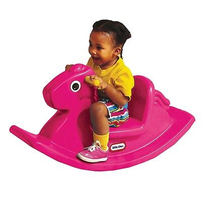 Little Tikes Rocking Horse, Toddler & Baby Indoor / Outdoor Play Toy - Pink