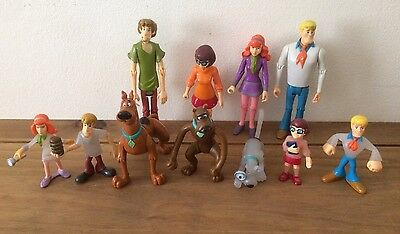 Scooby-Doo & Friends Bundle Of Figures Hanna-Barbera Toys Kids TV Cartoons