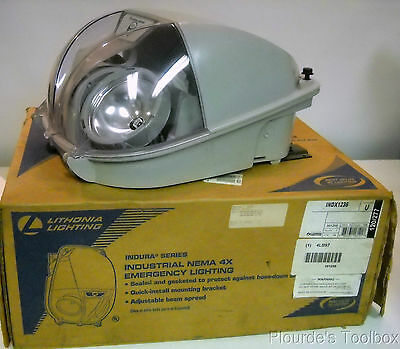 New Lithonia INDX1236 Safety Light (Out of Date Battery)
