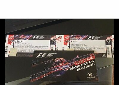 Formula 1 tickets and camping package