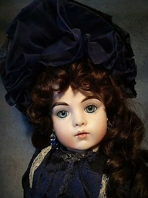 Bru Jne 11 By Artist Signed Lindolley Magnificent Show Quality Doll