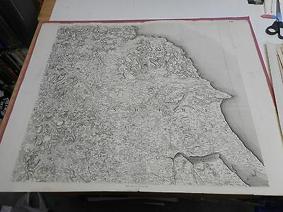 100% Original Large Scale Yorkshire  Map By J Stockdale C1809 Vgc Scarce