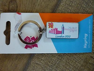 Houses of Parliament London 2012 Olympics Keyring Brand New
