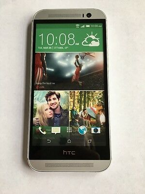 HTC One M8 NON WORKING Display/Dummy/Sample Silver