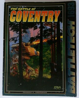 Battletech The battle for Coventry sourcebook FASA 1693
